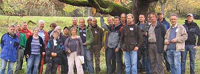 Arbeitsgruppe Arboretumsgärtner, Foto: Andreas König